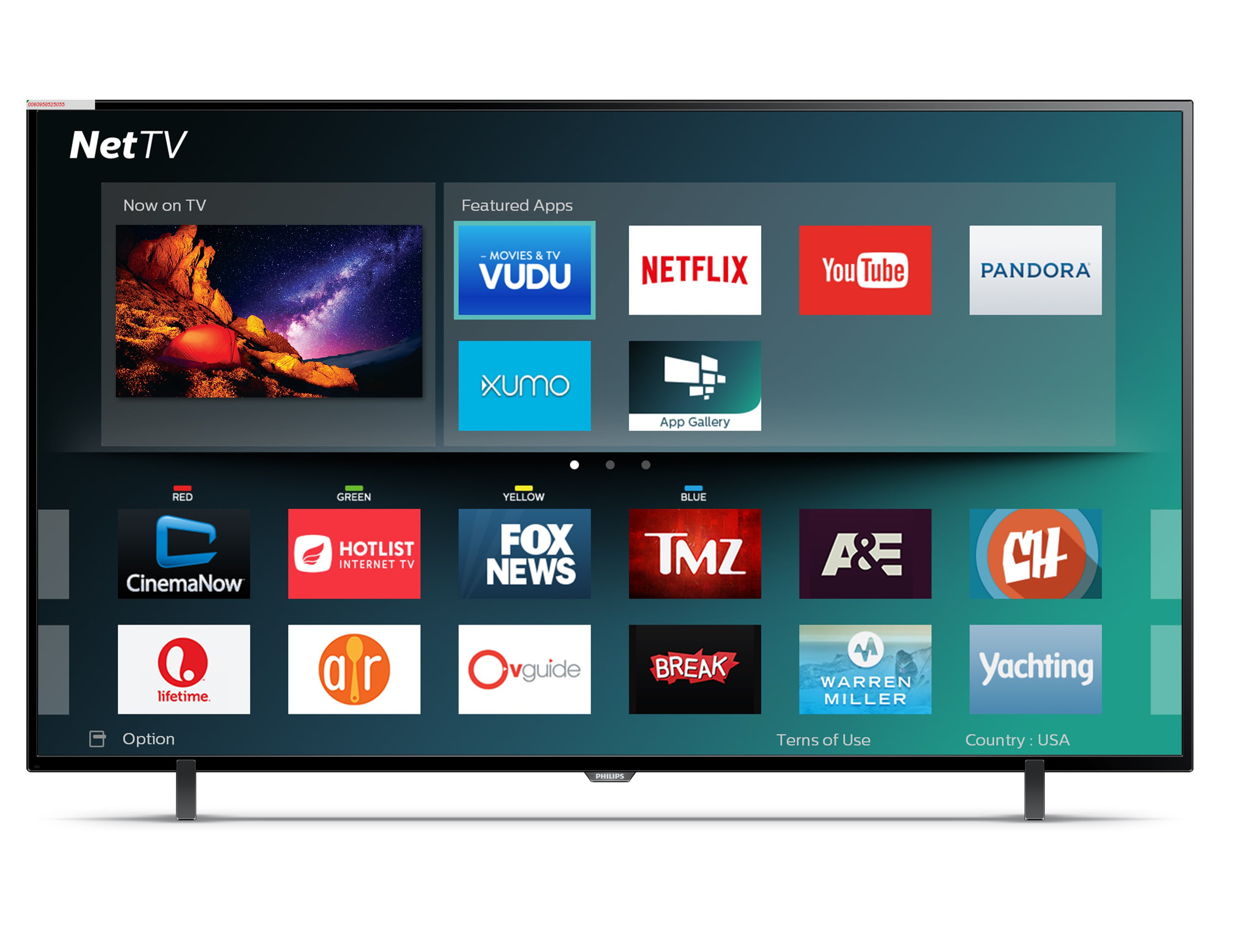"Refurbished Philips 65"" 4K (2160p) Smart LED TV (65PFL5602 F7) by Philips"