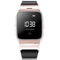 WiFi Smart Watch Elderly GPS Tracker Phone Call Smartwatch, Multifunctional LBS Precise Positioning Anti-Lost SOS Activity Tracker Smart Sport Watch Perdometer Android iPhones