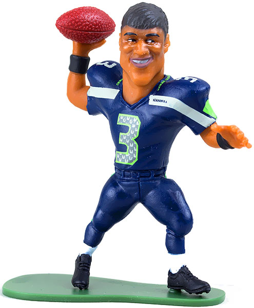 McFarlane NFL Small Pros Series 2 Russell Wilson Mini Figure by
