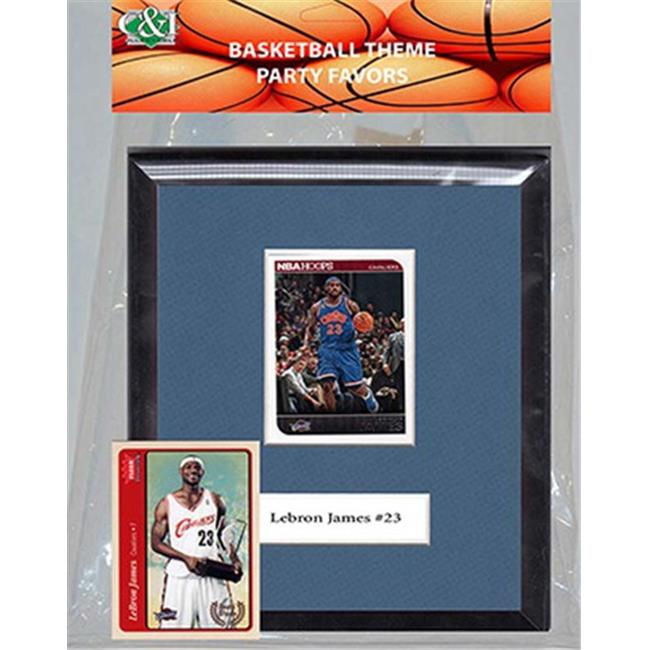 Candlcollectables 67LBCAVS NBA Cleveland Cavaliers Party Favor With 6 x 7 Mat and Frame