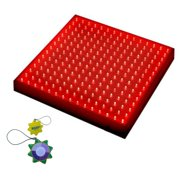 HQRP 225 Red LED Indoor Garden Hydroponic Plant Grow Light Panel 14W + Hanging Kit + HQRP UV Meter
