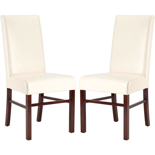 Safavieh Classic Side Chair, Set of 2, Bicast Leather
