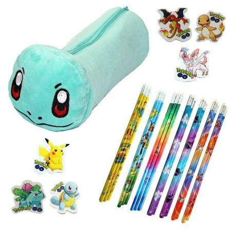 Pokemon Center Pen Pencil Eraser Case
