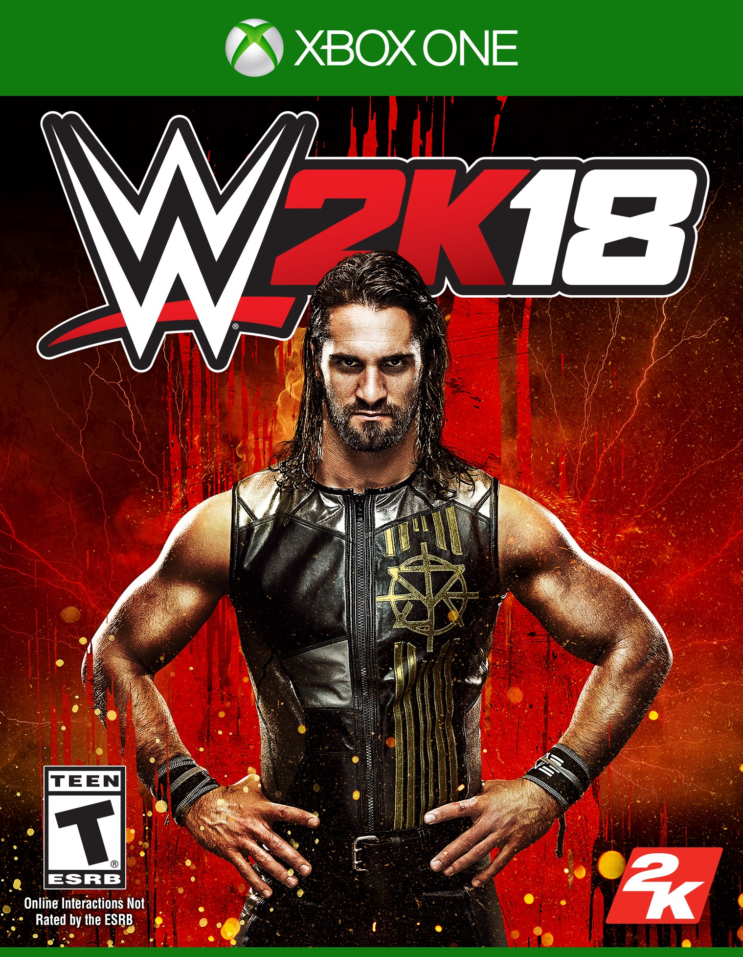 WWE 2K18, 2K, Xbox One, 710425499463 by Visual Concepts