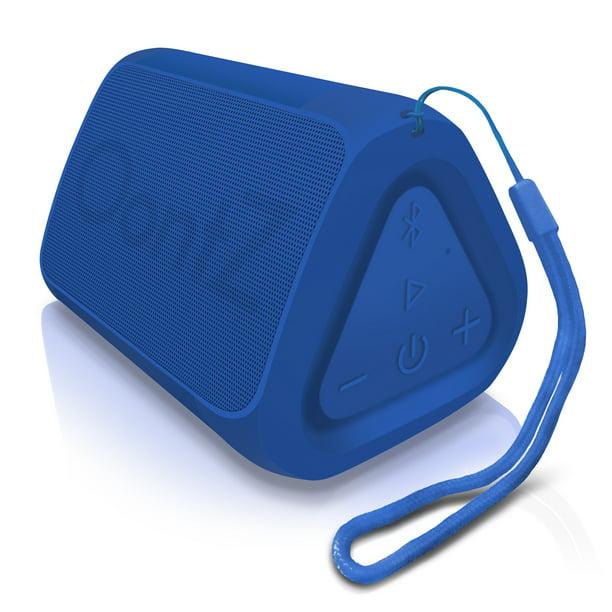 Oontz Angle Solo Bluetooth Speaker Surprisingly Loud Bass 100a Wireless Range Ipx 5 Splashproof Blue With Lanyard Walmart Com Walmart Com