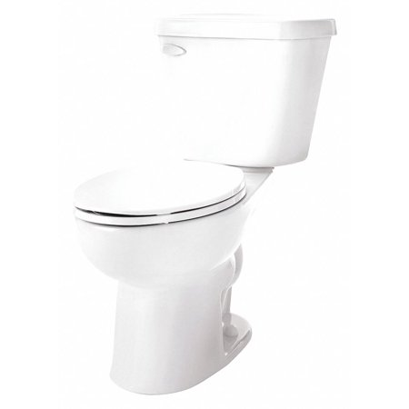 Gerber Toilet Bowl, Floor Mounting Style, Elongated, 1.0 Gallons per