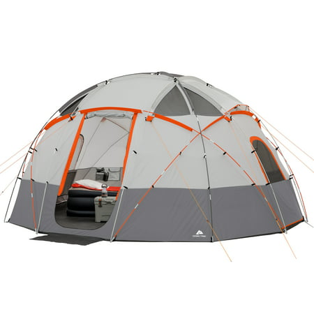 Base Camp Storage - Ozark Trail 12-Person Base Camp Tent with Light