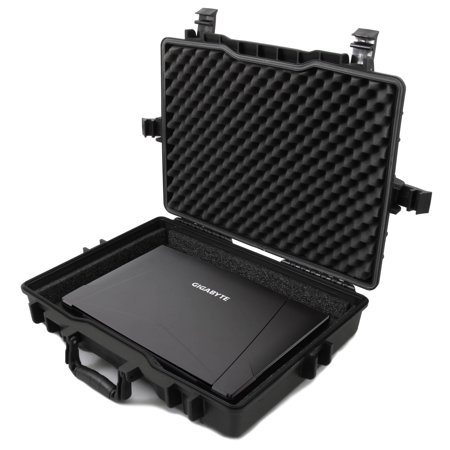 CASEMATIX Laptop Hard Case Fits Gigabyte Gaming Laptops Up to 18 Inches; Holds Gigabyte Aero 15X, Gigabyte Sabre 15 and More with - Afro Accessories