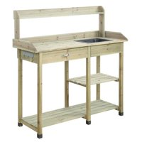 Convenience Concepts Planters and Potts Deluxe Potting Bench