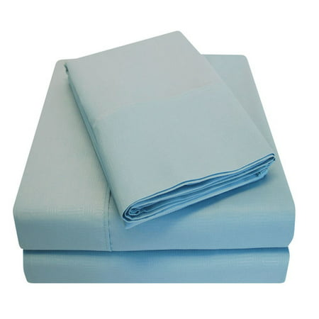 Simple Luxury Embossed Egyptian-Quality Cotton Microfiber Sheet Set