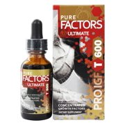 Pure Solutions - Pure Factors Ultimate Concentrated Growth Factors From Deer Velvet Antler - 1 oz.