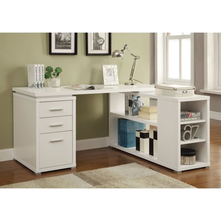 Coaster Yvette Collection L Shaped Reversible Desk Multiple Colors
