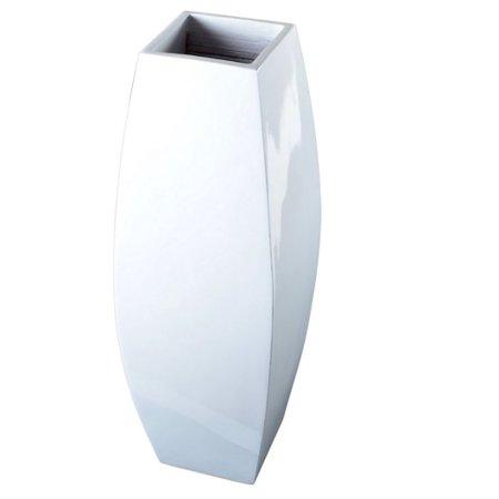 Lerman Decor Small Tall White Vase Walmart