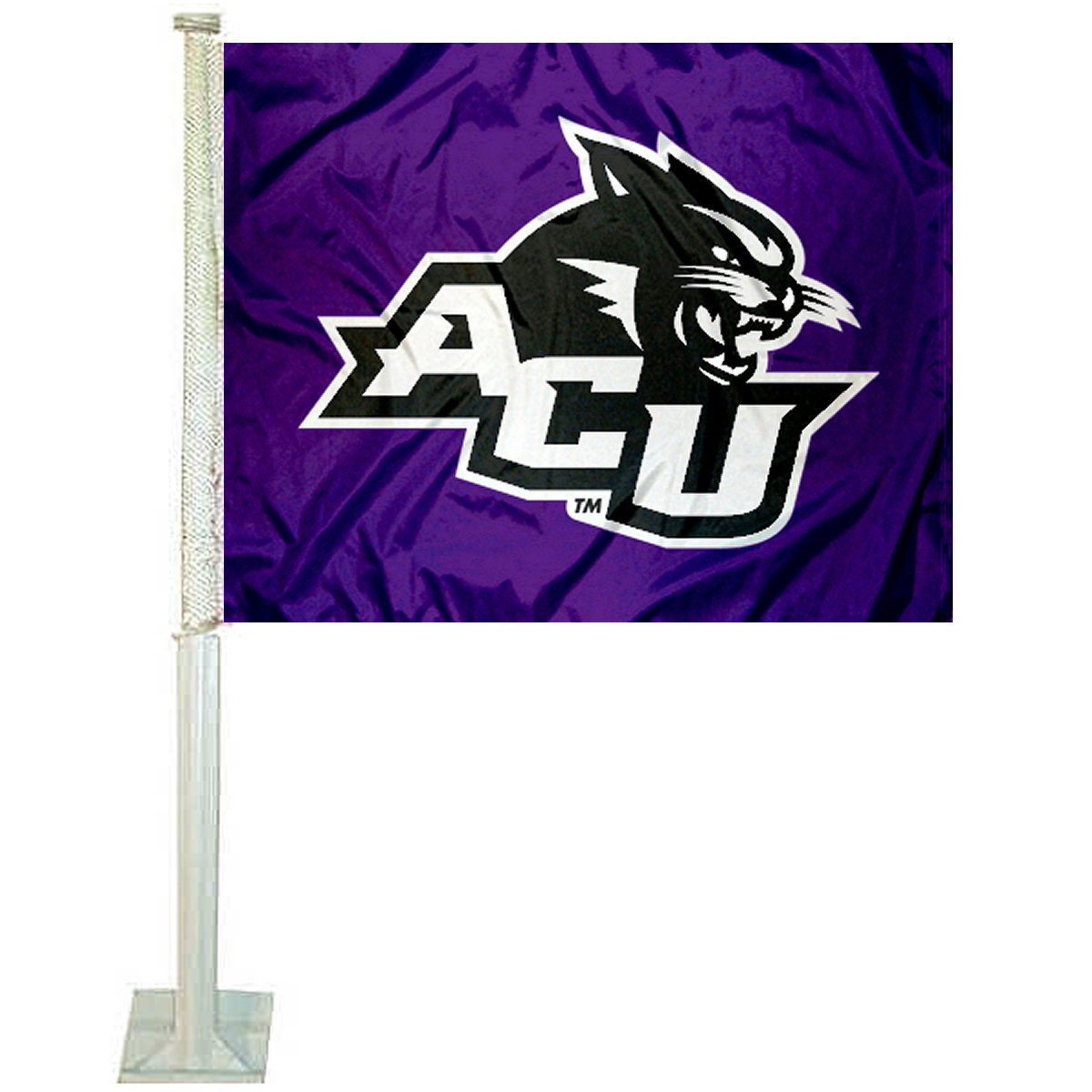 "Abilene Christian University 12"" x 15"" Car Flag"