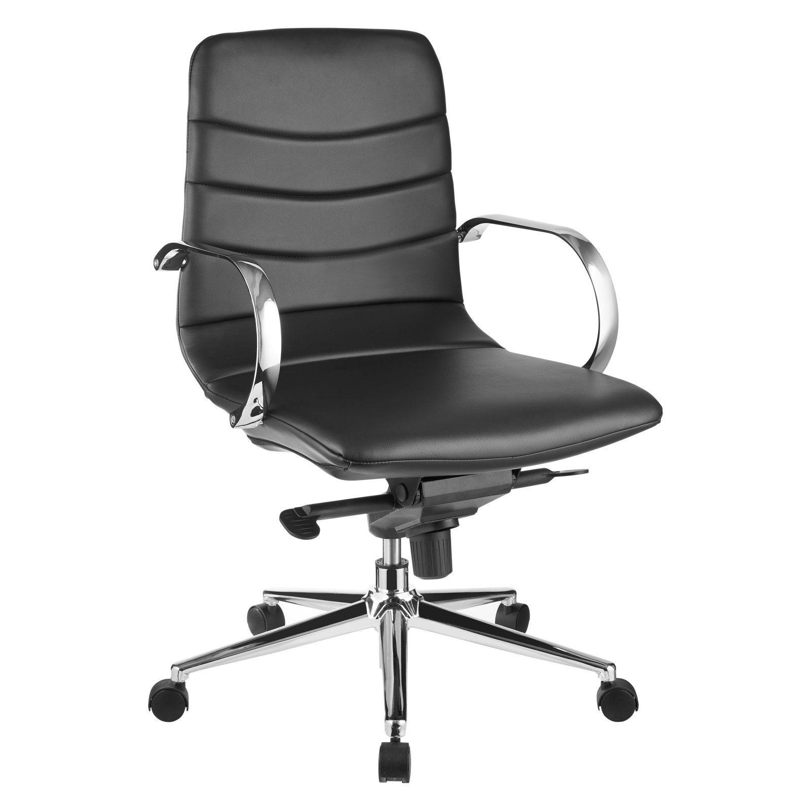 Casabianca Horizon Eco-Leather Arm Office Chair