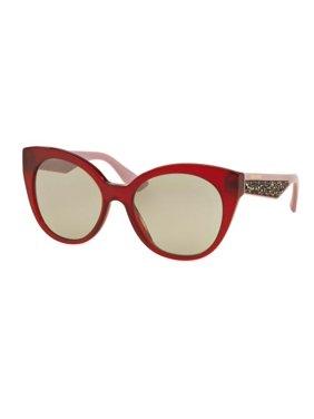 ae00e31972f1 Product Image MIU MIU Sunglasses MU 07RS TKW5J0 Opal Bordeaux 55MM