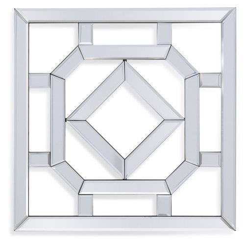 Bassett Mirror Company Kerry MDF and Glass Wall Mirror by Overstock