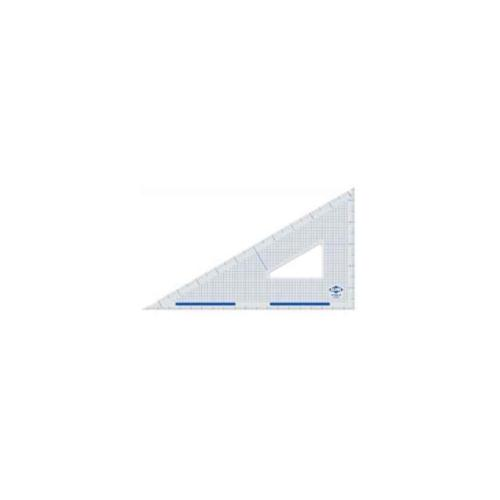 Durable Clear Acrylic Cutting Edge Triangles (10 in. L)