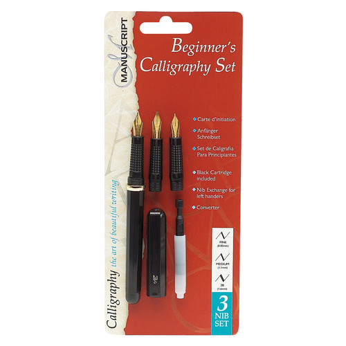 Manuscript Beginner's Calligraphy Pen Set