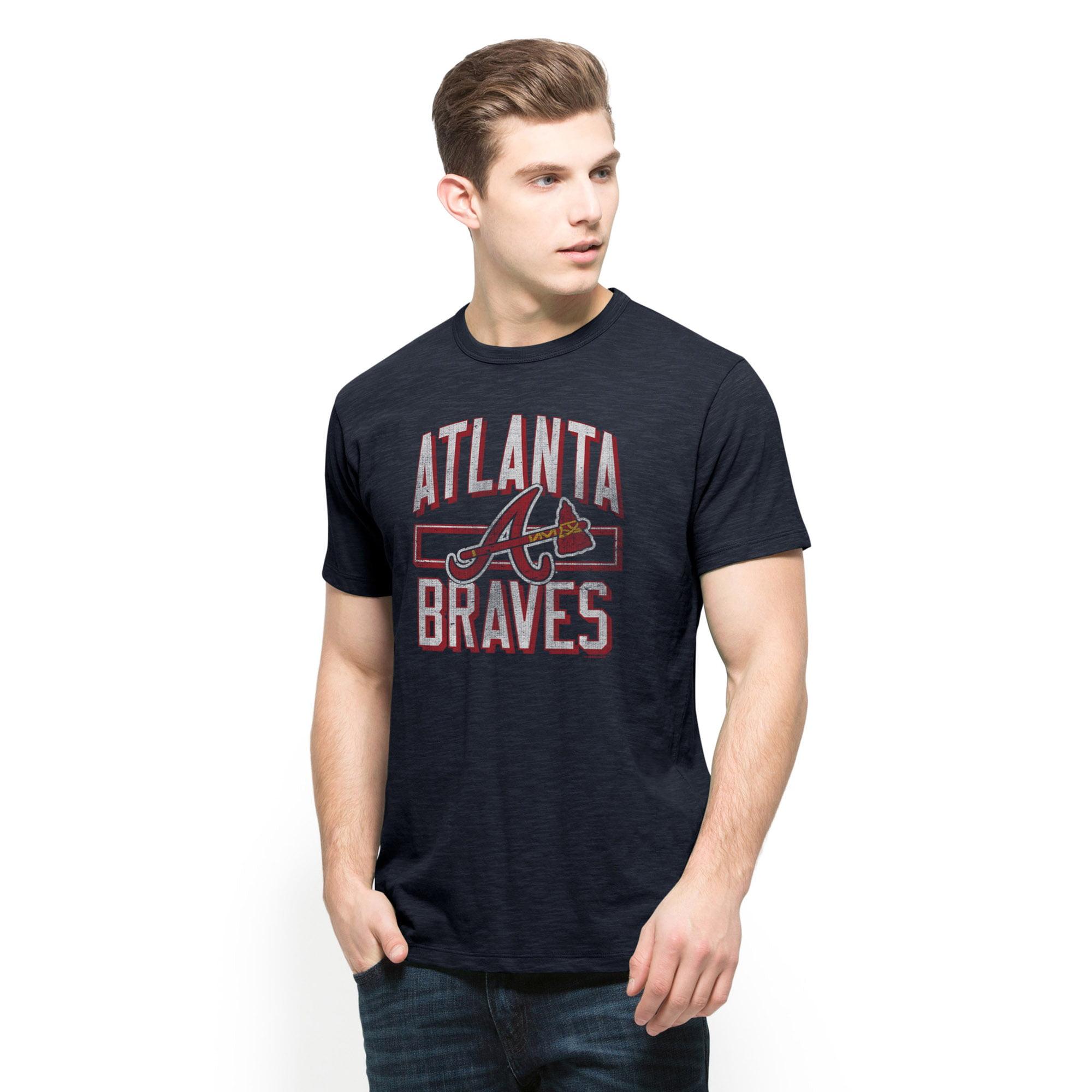 Atlanta Braves '47 Scrum T-Shirt - Navy