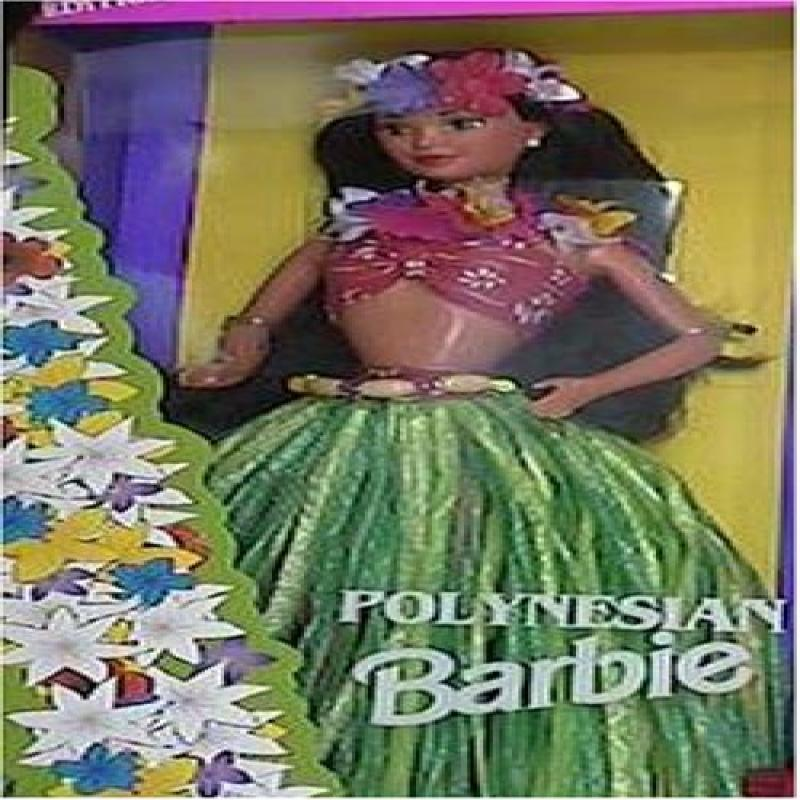Mattel Polynesian Barbie Doll Of The World 1994 12700