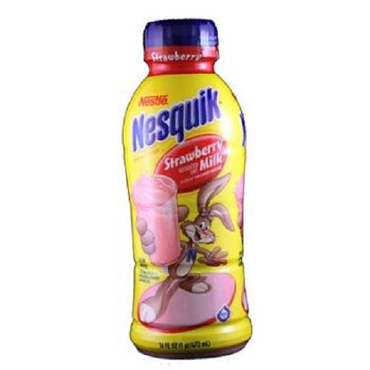 Product Of Nesquik, Low Fat Milk - Strawberry, Count 12 (14 oz) - Milk/Yogurt/Smoothie / Grab Varieties & Flavors