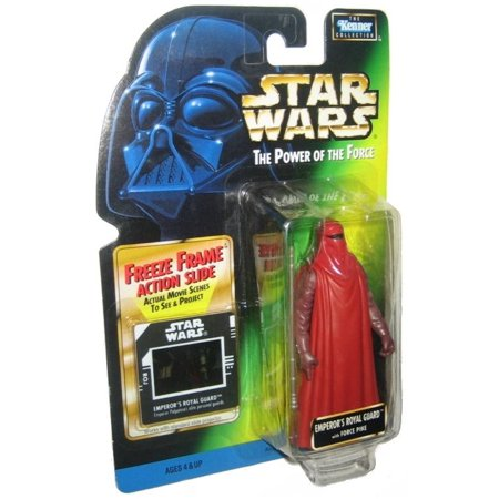 Star Wars Emperor's Royal Guard Freeze Frame Action Slide Kenner Figure
