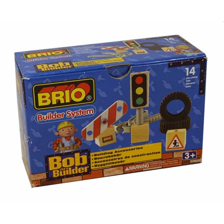 Brizo Accessories - Brio Builder System Bob the Builder Building Accessories - 14 Play Pieces