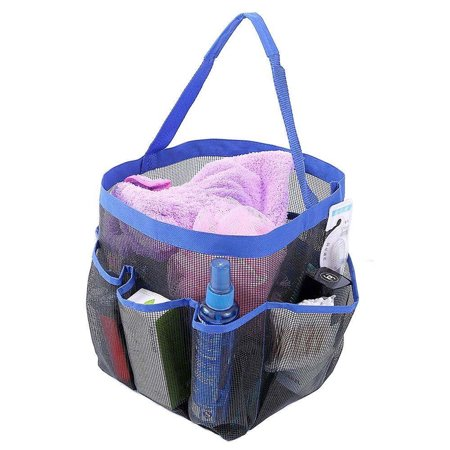 Felji Shower Caddy Tote Toiletry Gym Beach Pool Dorm Baby Diaper Bag Makeup Bath (Pool Caddy)