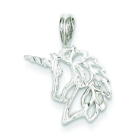 - Sterling Silver Unicorn Charm Pendant Fantasy Jewelry