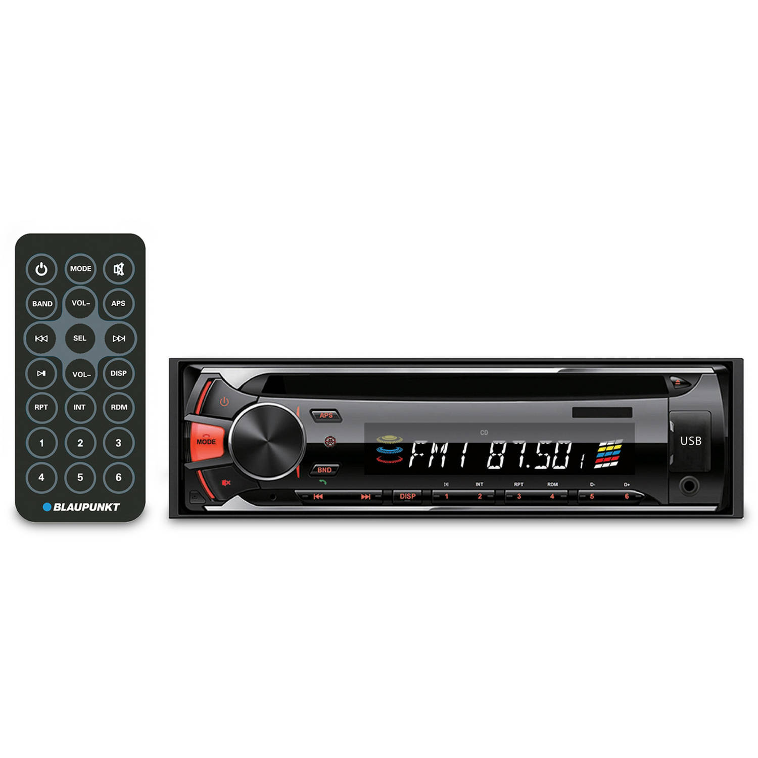 Blaupunkt CD and MP3 Receiver with USB/SD/Aux (BOS100)