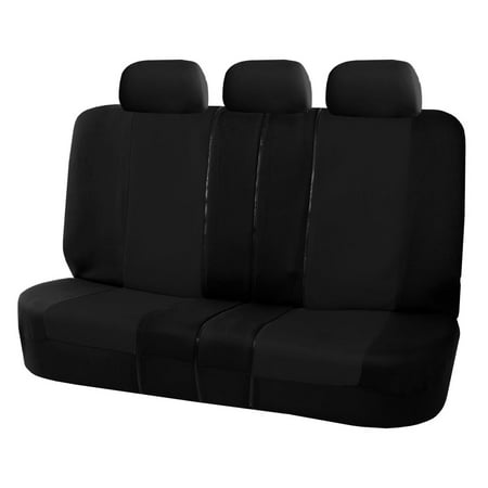 FH Group Universal Flat Cloth Multifunctional Split Bench Seat Covers,