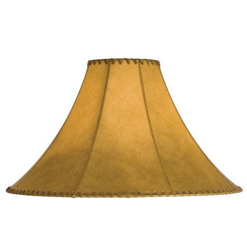 Meyda Tiffany 26353 Single Faux Leather Tan Shade by Meyda Tiffany