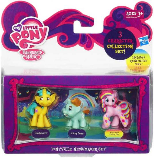 My Little Pony Character Collection Sets Ponyville Newsmaker Figure Set A6688