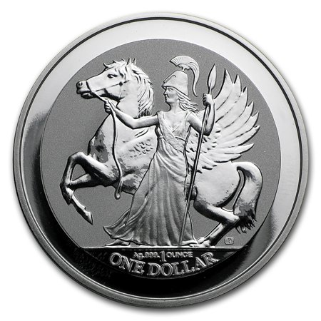 Proof British Virgin Islands (2017 British Virgin Islands 1 oz Silver Pegasus Reverse)