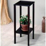 A Line Furniture Heritage Sleek Design Square Plant Stand/ Side Table