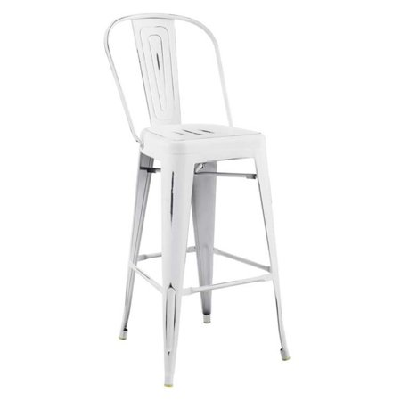 Promenade Bar Side Stool White - Modway