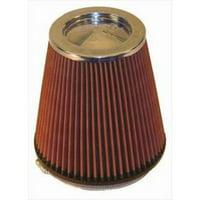 K&N Filter Universal Air Filter (Chrome) - RF-1041