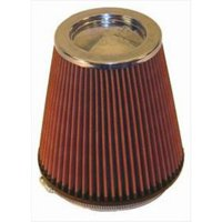 K&N Filter Universal Air Filter (Chrome) - RF-1041