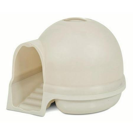 Booda Dome Clean Step Cat Litter Box, Pearl Petmate High Back Litter Pan