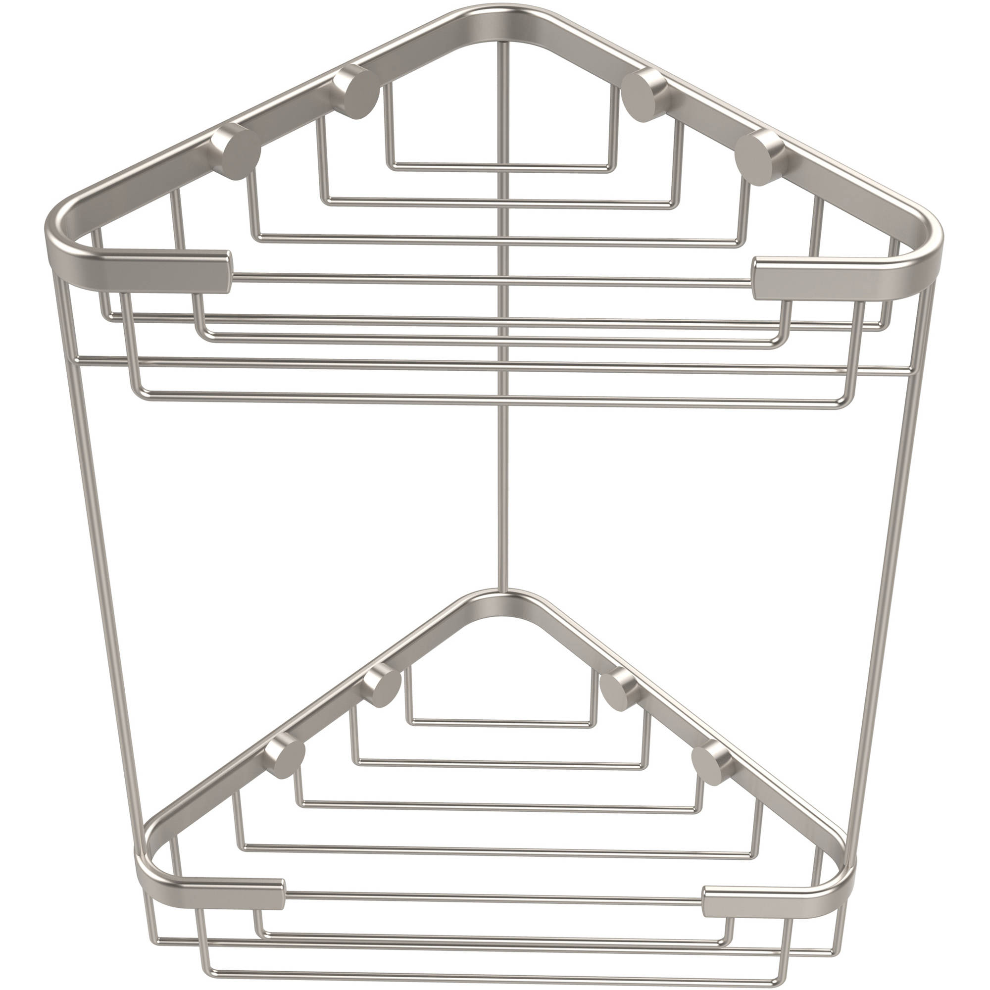 Double Tier Corner Shower Basket (Build to Order)