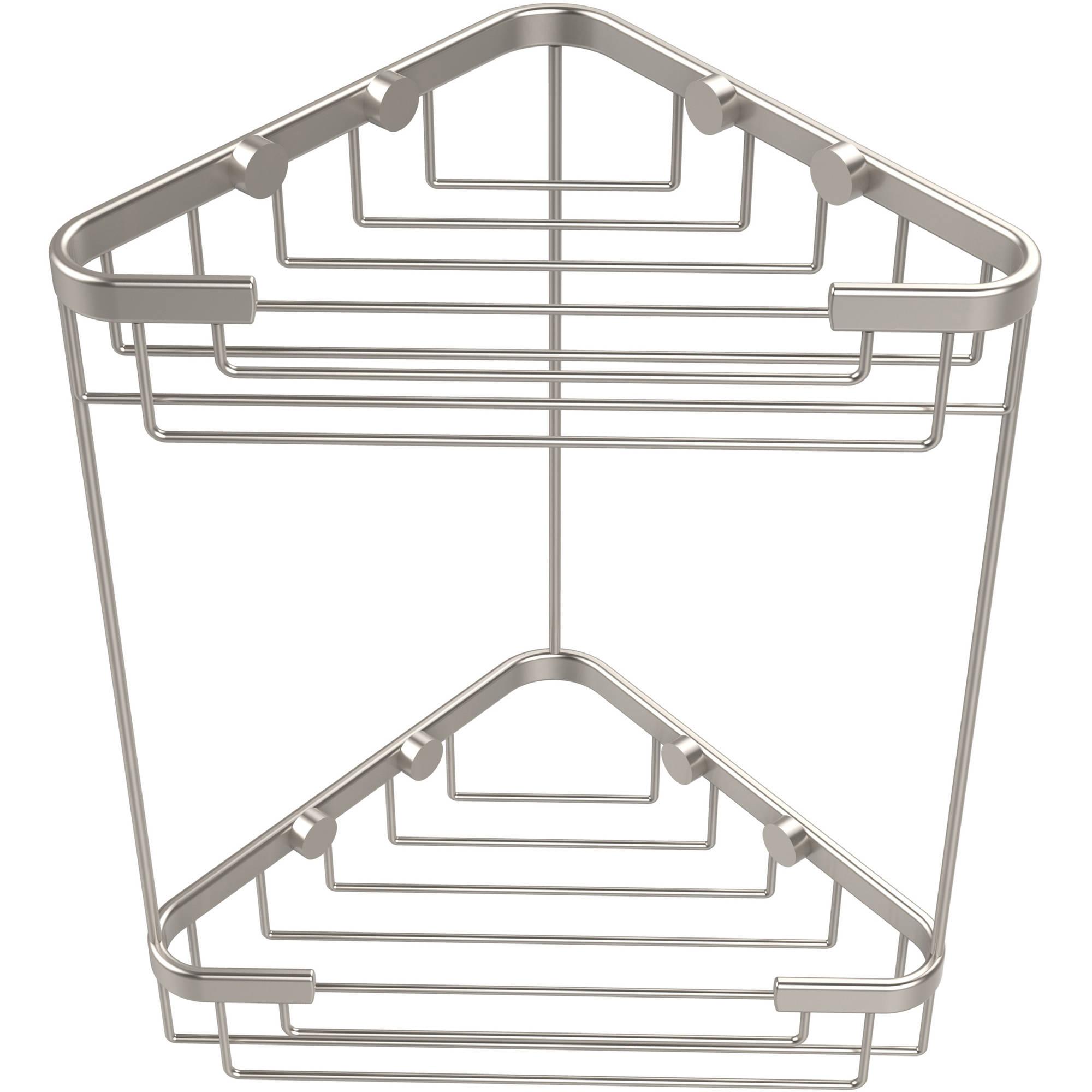 Double Tier Corner Shower Basket (Build to Order)