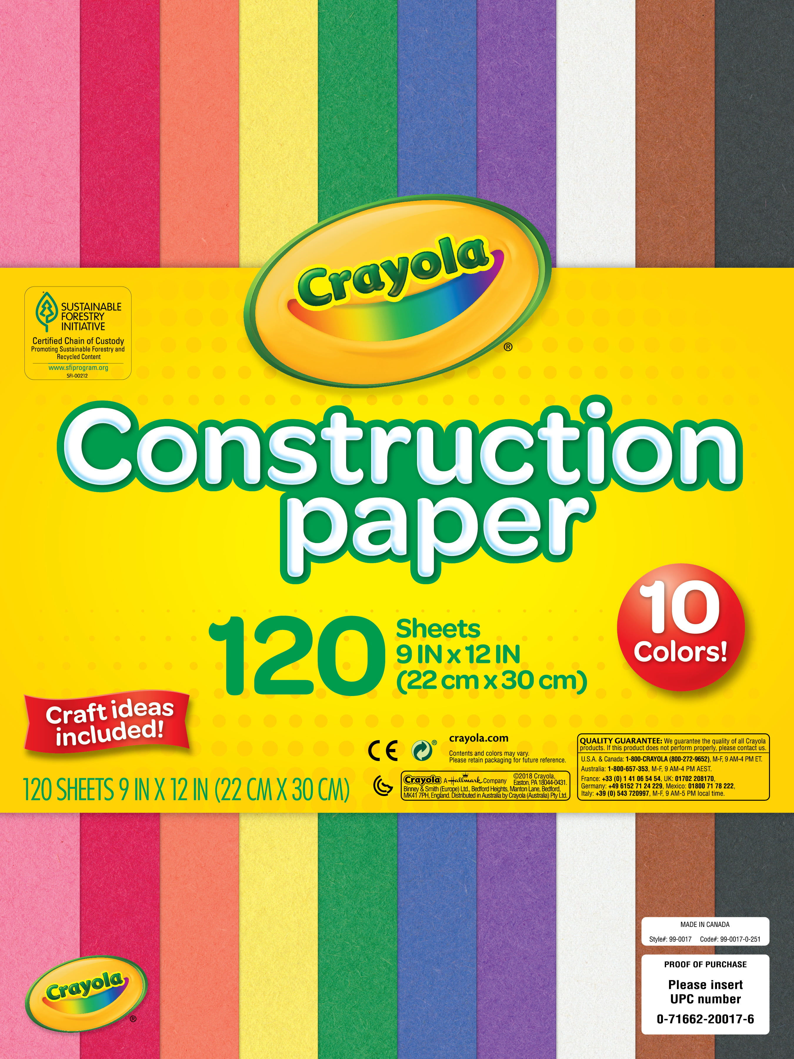 Riverside 3D Construction Paper 9 x 12 Inches Holiday Green Pack of 50