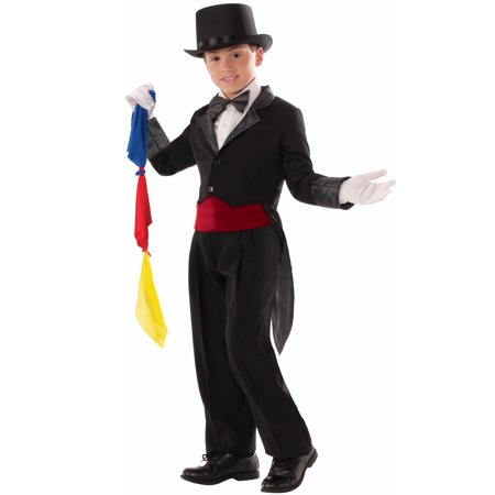 Magician Tailcoat Child Costume (Large) for $<!---->