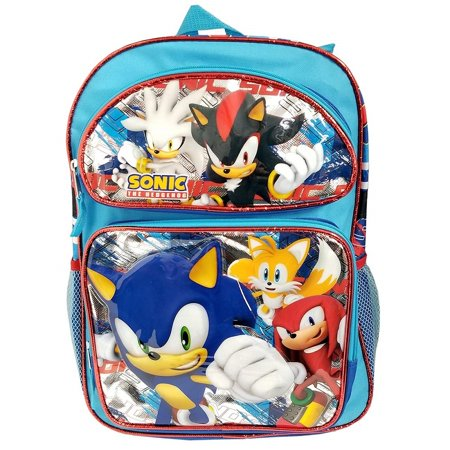 Backpack - Sonic the Hedgehog - Small 12 Inch - Group -