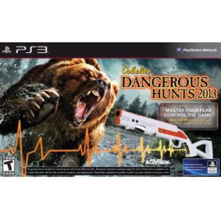 Cabela's Dangerous Hunts 2013 With Gun (PS3) (Ps3 Shooting Games With Gun For Move)