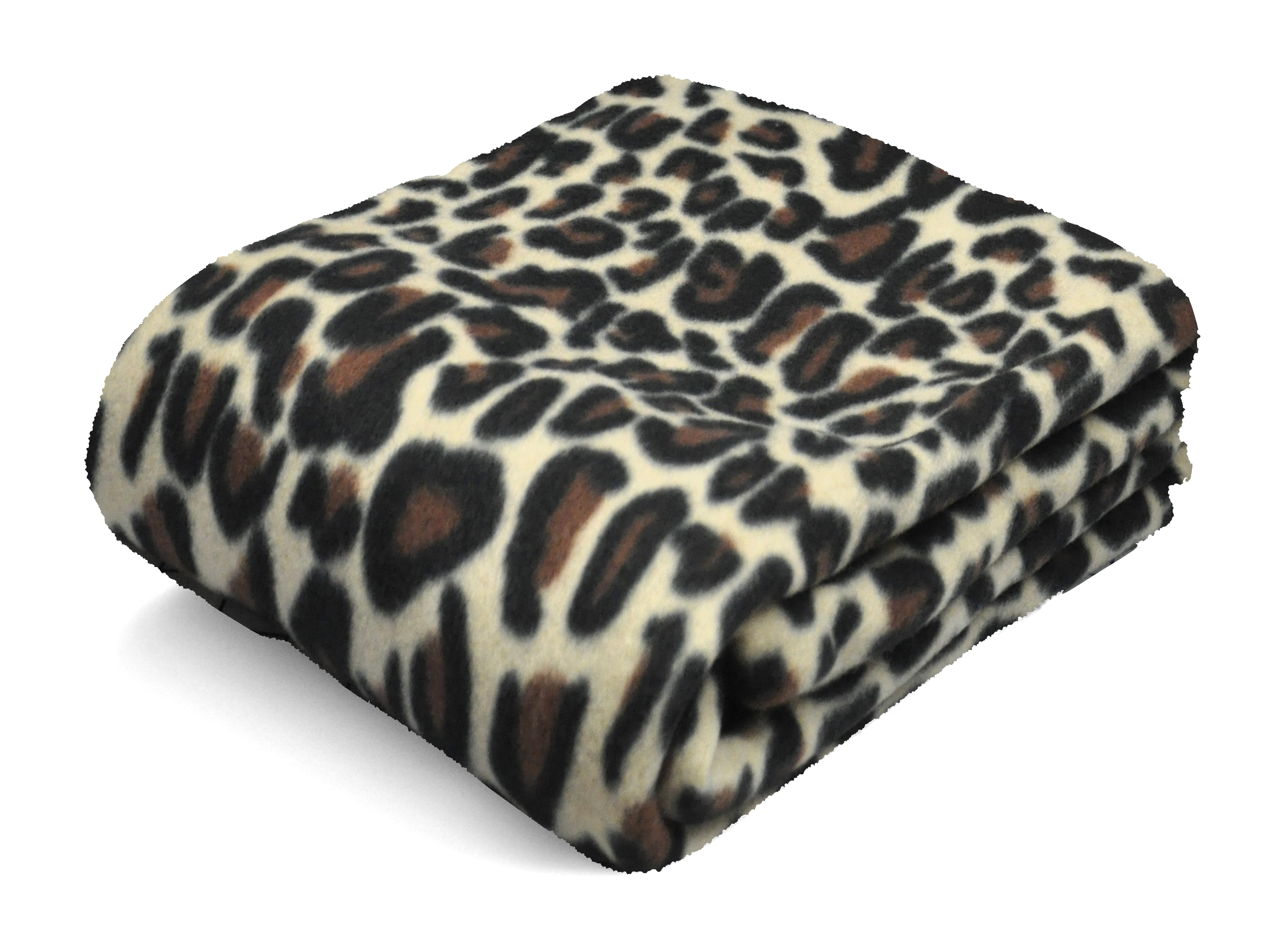mainstays fleece throw cheetah