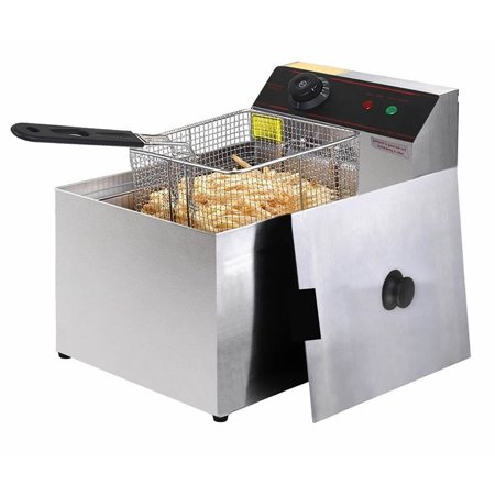 Deep Rectangle Tabletops - Gymax Deep Fryer Electric Commercial Tabletop