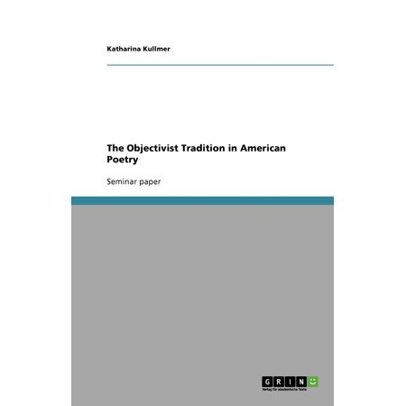 The Objectivist Tradition in American Poetry](America's Halloween Traditions)