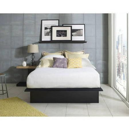 Premier Austin Metal Platform Bed Frame Queen with complete Bonus ...